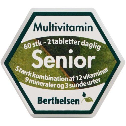Køb Berthelsen Senior Multivitamin Vegansk 60 stk. online hos apotekeren.dk