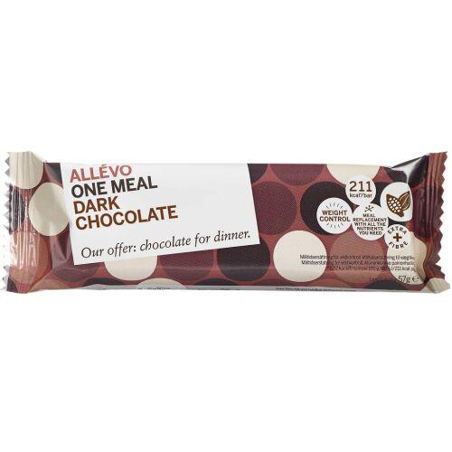 Køb Allevo LCD Bar One meal Mørk Chokolade 1 stk. online hos apotekeren.dk