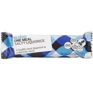 Køb Allevo LCD Bar One meal Salt Lakrids 1 stk. online hos apotekeren.dk