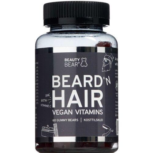 Køb Beauty Bear BEARD'N HAIR Men 60 stk. online hos apotekeren.dk