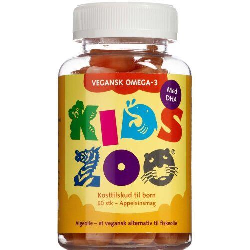 Køb Kids Zoo Vegansk Omega-3 60 stk. online hos apotekeren.dk
