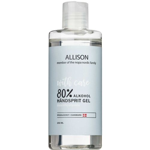 Køb Allison Håndsprit Gel 80% 250 ml online hos apotekeren.dk