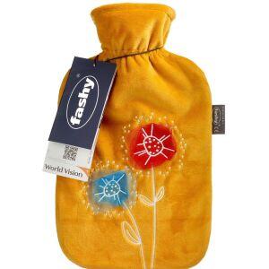 Køb Sipacare varmedunk gul m. blomst, 2L 1 stk. online hos apotekeren.dk