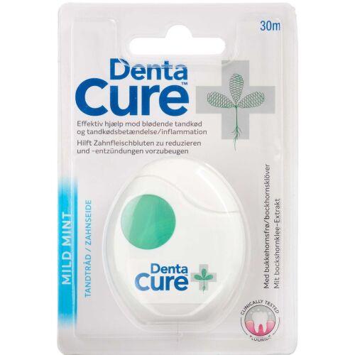 Køb DentaCure tandtråd mild mint 30 m online hos apotekeren.dk