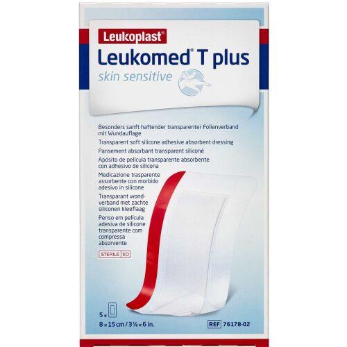 Køb Leukoplast Leukomed T Plus Sensitive 5 stk. online hos apotekeren.dk