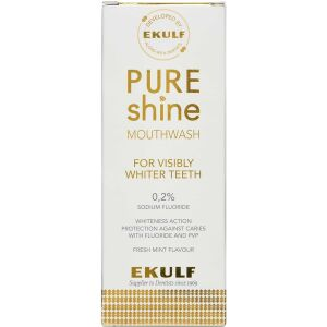 Køb Ekulf Pure Shine mundskyl 300 ml online hos apotekeren.dk