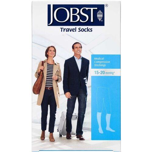 Køb Jobst Travel kompressionsstrømpe black str. XS 1 par online hos apotekeren.dk