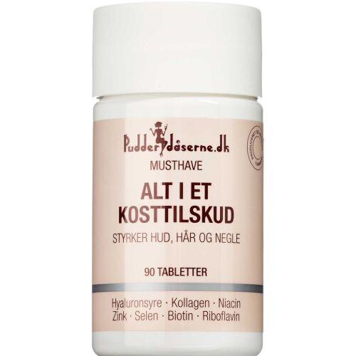 Køb Pudderdåserne Alt-i-en Kosttilskud 90 stk. online hos apotekeren.dk