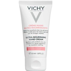 Køb Vichy ultra nærende håndcreme 50 ml online hos apotekeren.dk