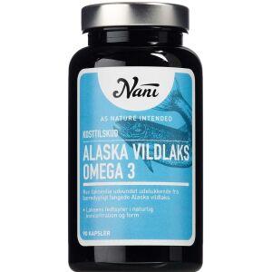 Køb Nani Alaska vildlaks Omega 3 90 stk. online hos apotekeren.dk