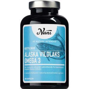 Køb Nani Alaska vildlaks Omega 3 180 stk. online hos apotekeren.dk