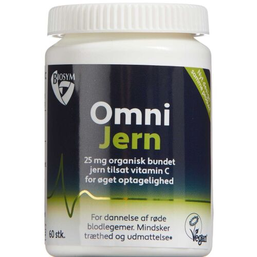 Køb Biosym OmniJern kapsler 60 stk. online hos apotekeren.dk