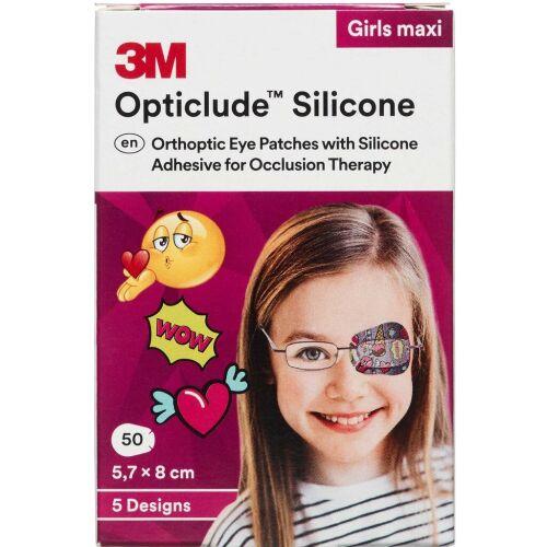 Køb 3M Opticlude skeleplaster girl 50 stk. online hos apotekeren.dk