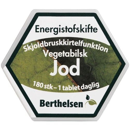 Køb Berthelsen Jod 225 mikg 180 stk. online hos apotekeren.dk