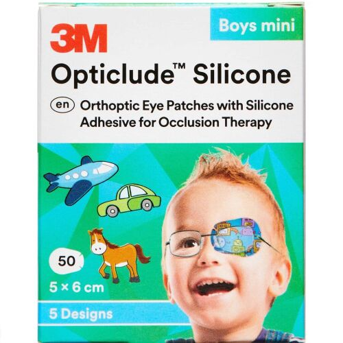 Køb 3M OPTICLUDE SKELEPLASTER BOY online hos apotekeren.dk