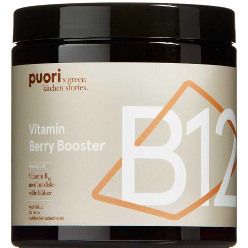 Køb Puori Vitamin B12 Berry Boost 20 stk. online hos apotekeren.dk