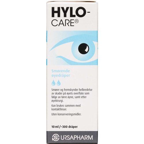 Køb HYLO-CARE ØJENDRÅBER online hos apotekeren.dk