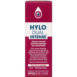 Køb HYLO DUAL INTENSE Øjendråber 10 ml online hos apotekeren.dk