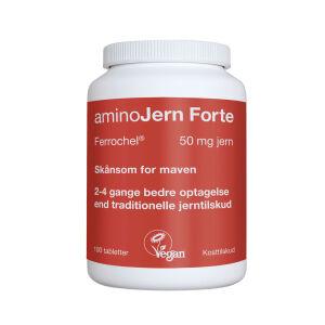 Køb aminoJern Forte 100 stk. online hos apotekeren.dk