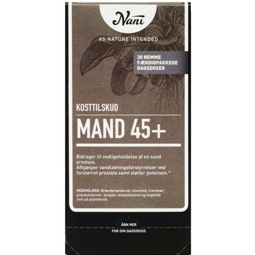 Køb Nani Kurpakke Mand 45+ 30 poser online hos apotekeren.dk