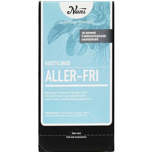 Køb Nani Kurpakke Aller-fri 30 poser online hos apotekeren.dk