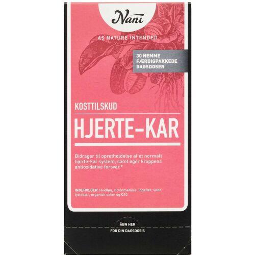 Køb Nani Kurpakke Hjerte-kar 30 poser online hos apotekeren.dk