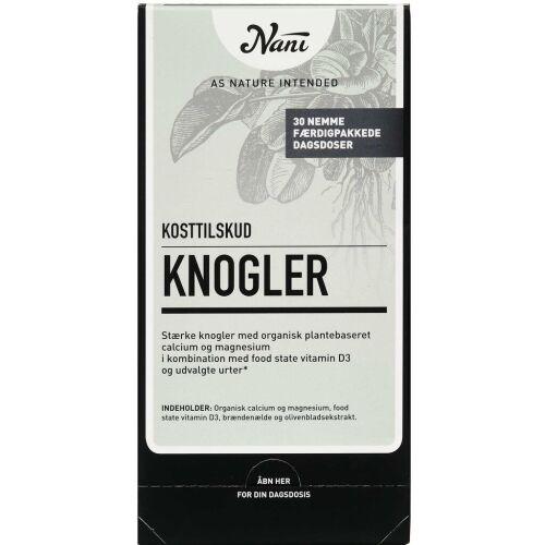 Køb Nani Kurpakke Knogler 30 poser online hos apotekeren.dk
