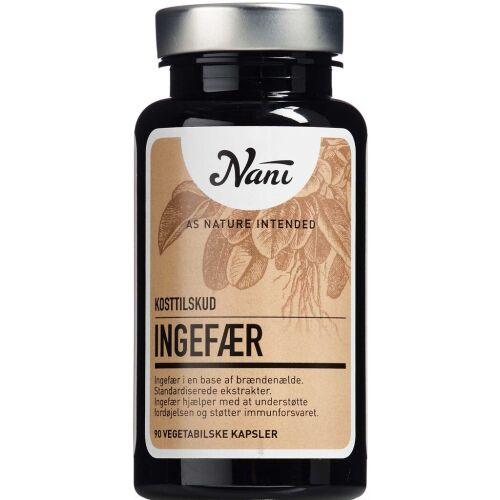 Køb Nani Ingefær 90 stk. online hos apotekeren.dk