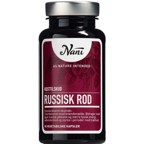 Køb Nani Russisk Rod 90 stk. online hos apotekeren.dk