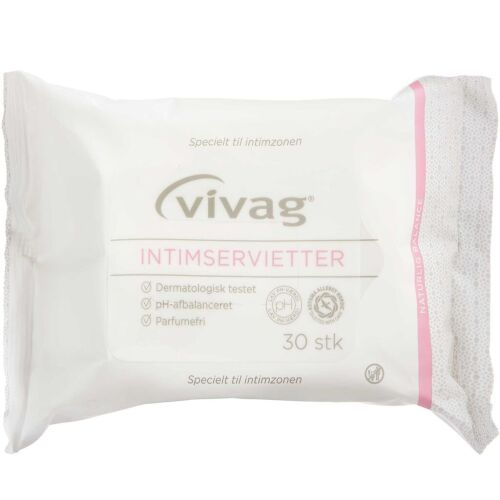 Køb VIVAG INTIMSERVIETTER online hos apotekeren.dk