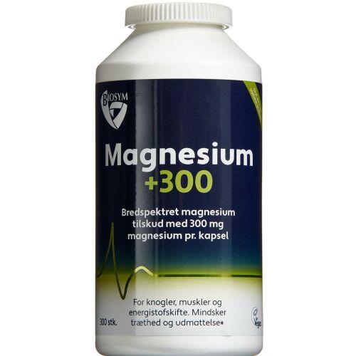 Køb BIOSYM MAGNESIUM+ 300 KAPS online hos apotekeren.dk