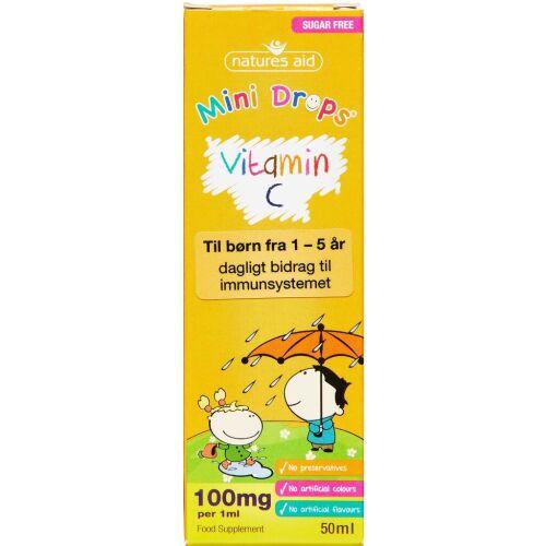 Køb NATURES AID MINI VITAMIN C online hos apotekeren.dk