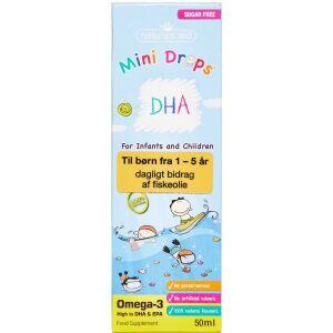 Køb NATURES AID MINI DHA OMEGA 3 online hos apotekeren.dk
