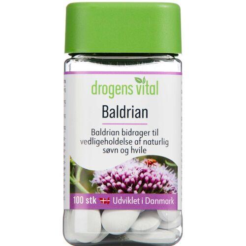 Køb DROGENS VITAL BALDRIAN TABL online hos apotekeren.dk