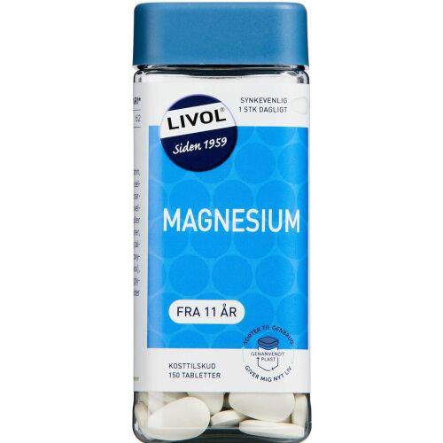 Køb LIVOL MAGNESIUM TABL online hos apotekeren.dk