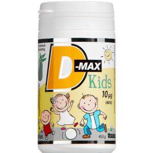 Køb D-max Kids 10 µg 90 stk. online hos apotekeren.dk