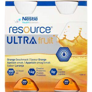 Køb RESOURCE ULTRA FRUIT APPELSIN online hos apotekeren.dk