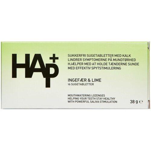 Køb HAP+ INGEFÆR OG LIME online hos apotekeren.dk
