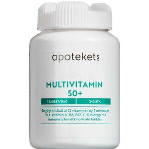 Køb Apotekets Multivitamin 50+ 240 stk. online hos apotekeren.dk
