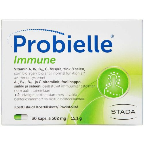 Køb PROBIELLE IMMUNE KAPS online hos apotekeren.dk
