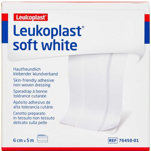 Køb LEUKOPLAST SOFT WHITE online hos apotekeren.dk