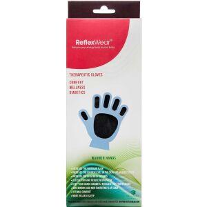 Køb Reflexwear hansker med fingre sort medium 1 par online hos apotekeren.dk