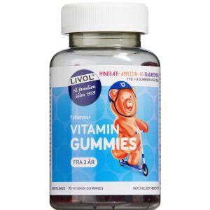 Køb Livol Vitaminbjørne Original 75 stk. online hos apotekeren.dk
