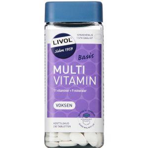 Køb LIVOL MULTI BASIS VOKSEN TABL online hos apotekeren.dk