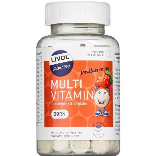 Køb LIVOL MT BØRN JORDBÆR TTB online hos apotekeren.dk