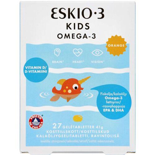 Køb ESKIO-3 KIDS CHEW OMEGA-3 online hos apotekeren.dk