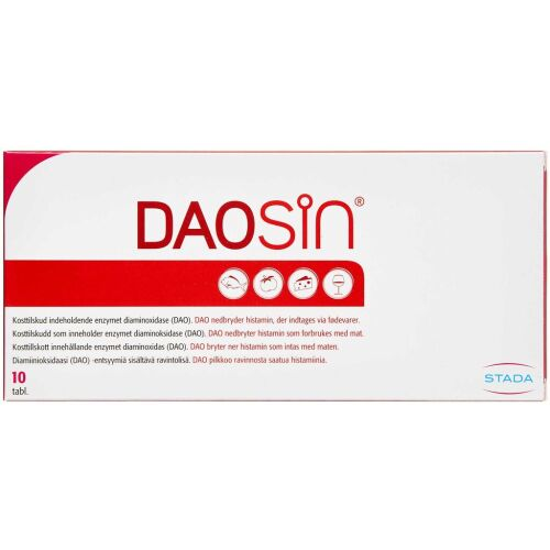 Køb DAOSIN TABL online hos apotekeren.dk