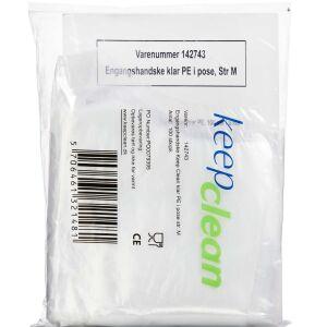 Køb KEEPCLEAN ENGANGSHANDSKE KLAR online hos apotekeren.dk