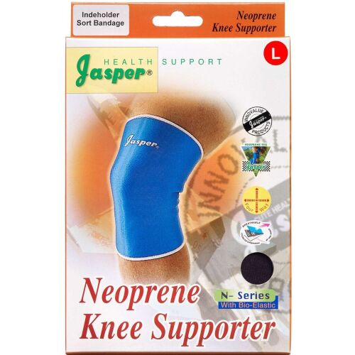Køb Jasper Neopren knæbandage large 1 stk. online hos apotekeren.dk