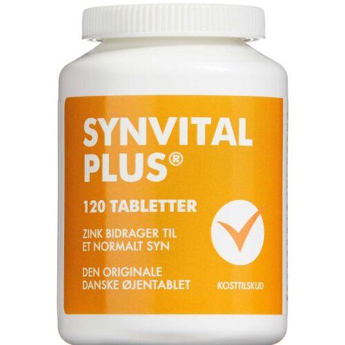 Køb Synvital Plus tabletter 120 stk. online hos apotekeren.dk